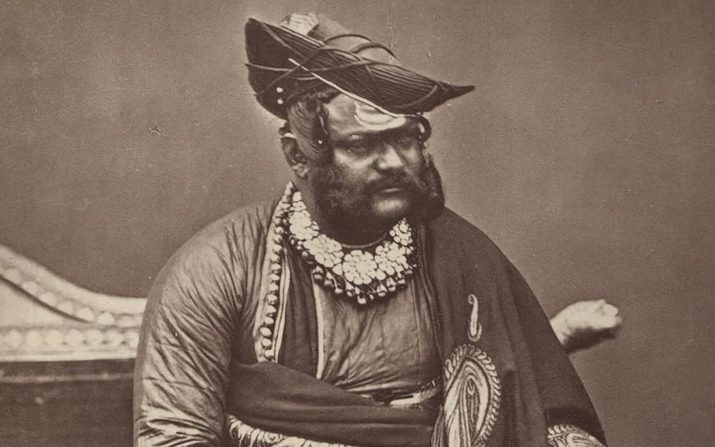 The Scindia of Gwalior in the Mutiny of 1857