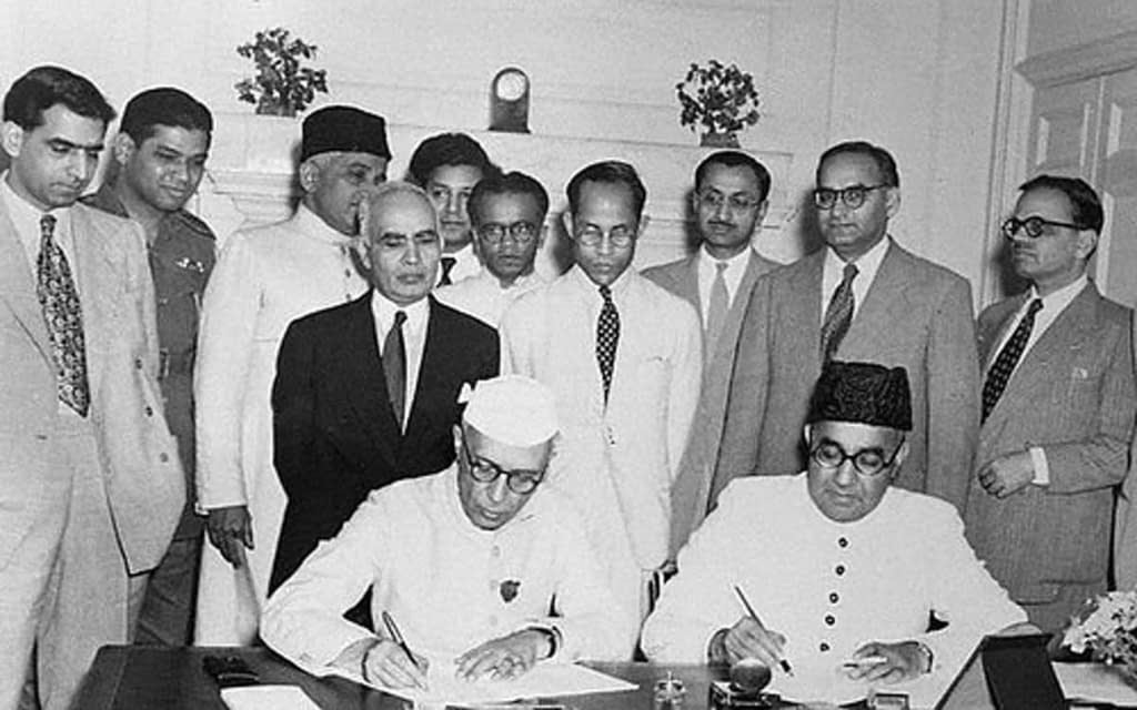 Sardar Patel opts for Partition of India