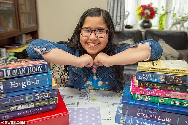 Indian-origin girl scores highest possible 162 on Mensa's IQ test...