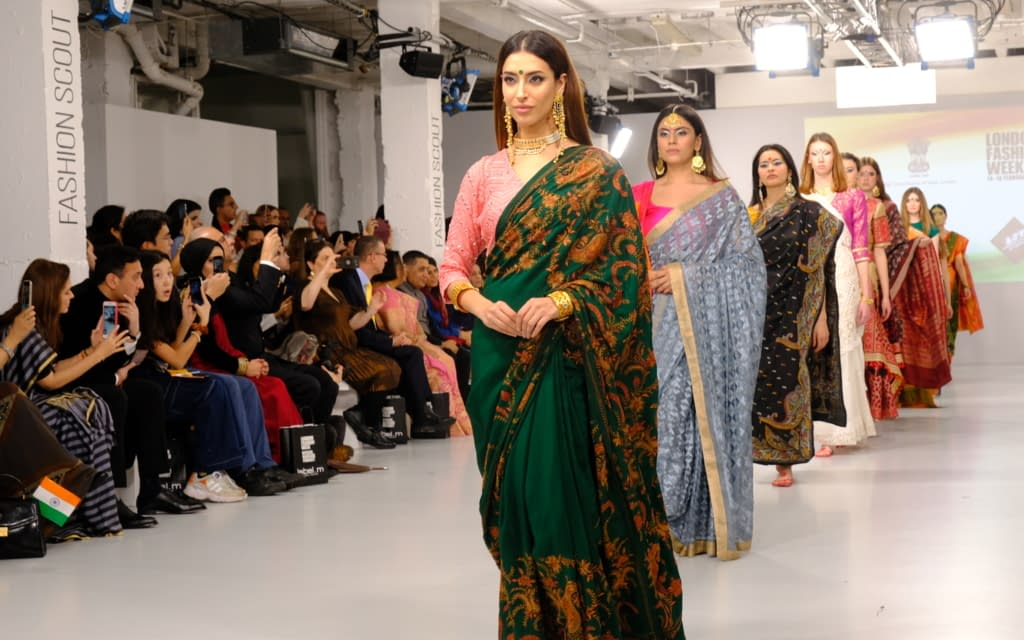 India Day Celebration At London Fashion Week
