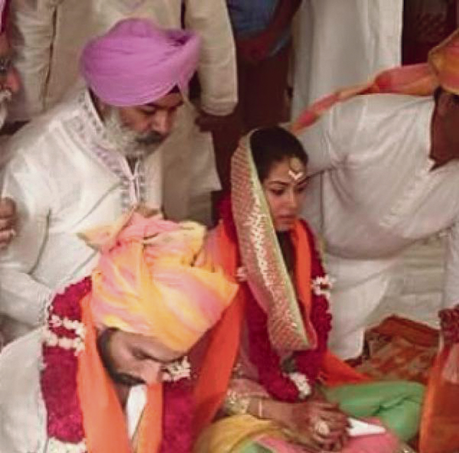 Newly Weds Foods Careers: It's Official! Shahid-Mira Hitched In Private Ceremony