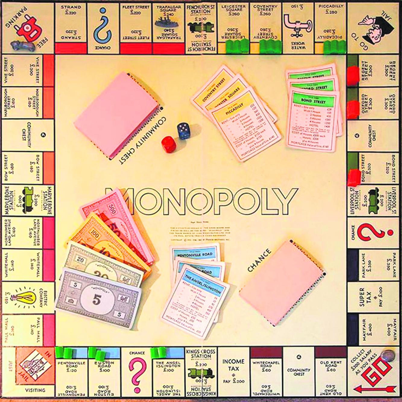 Монополия в домашних условиях