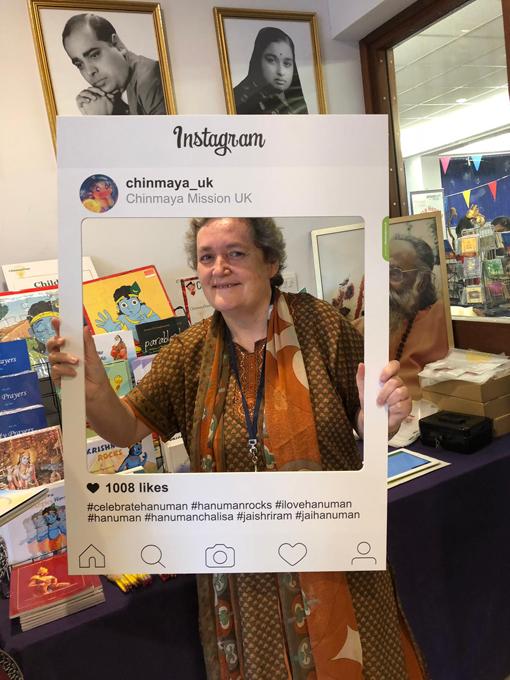 Head of Chinmaya Mission Worldwide visits London