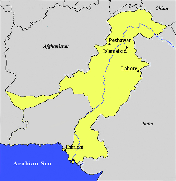 The Size of West Pakistan on 15 August 1947!