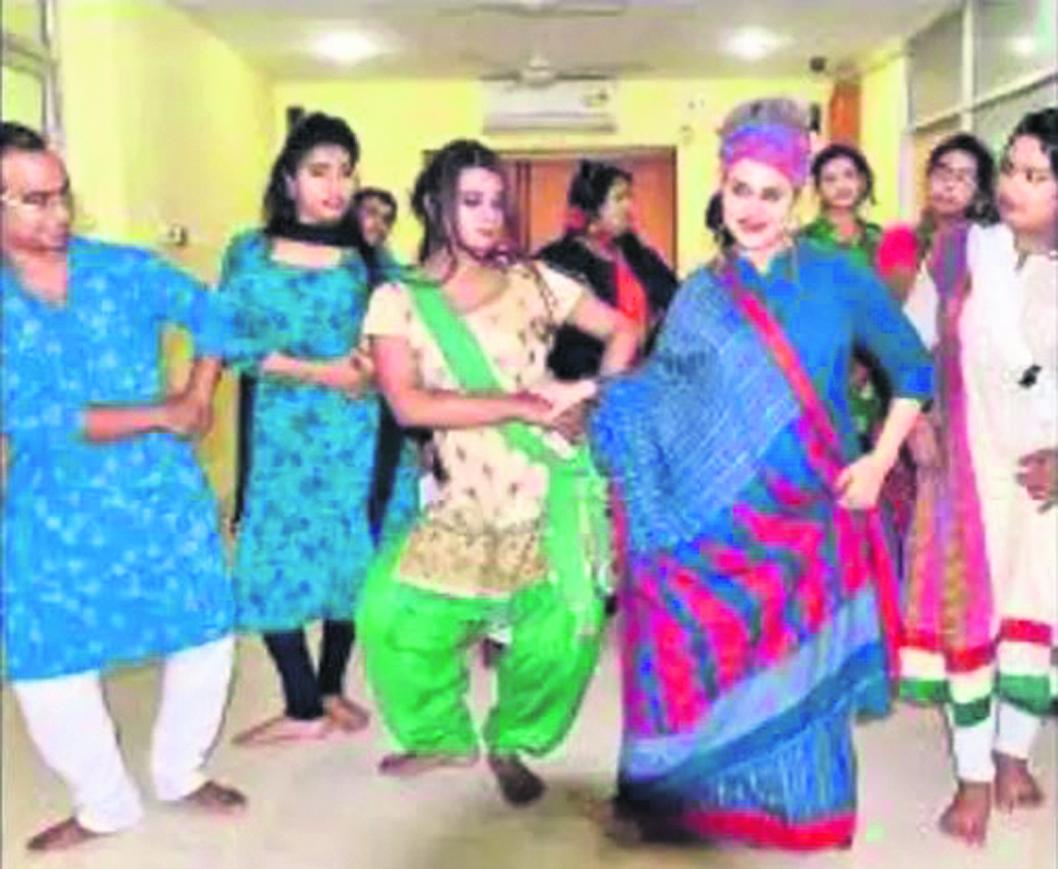 A dance school for transgenders in Kolkata